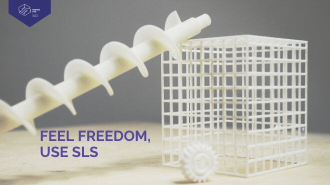 FEEL FREEDOM. USE SLS.